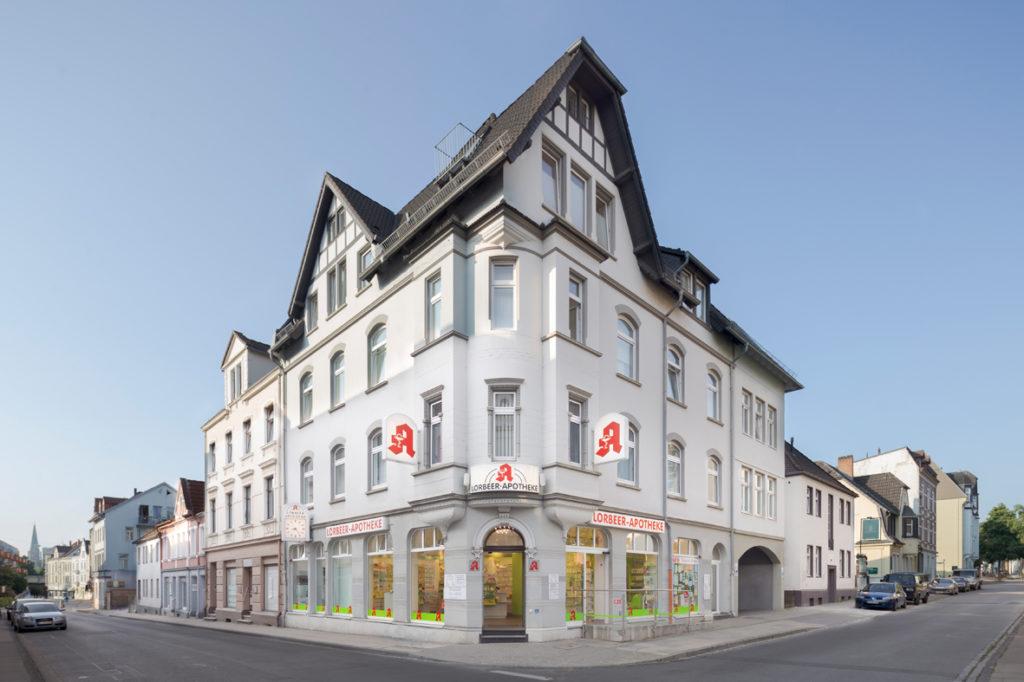 Ansicht Lorbeer Apotheke Bielefeld